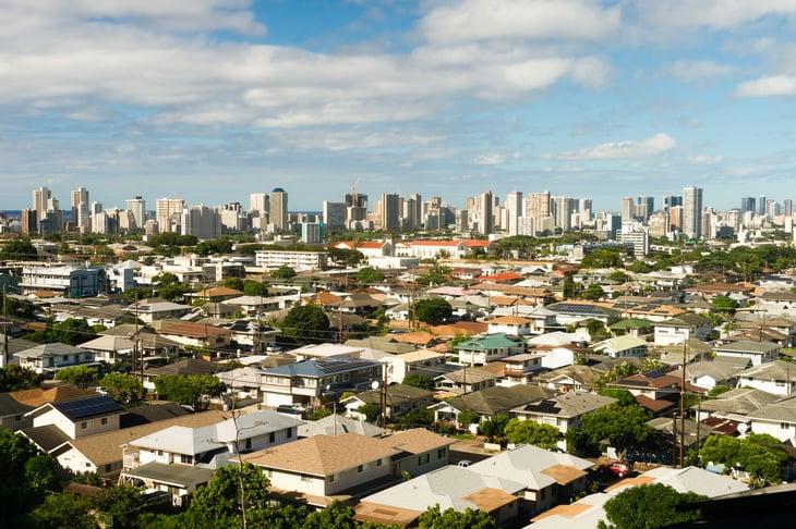 Honolulu City neighborhood