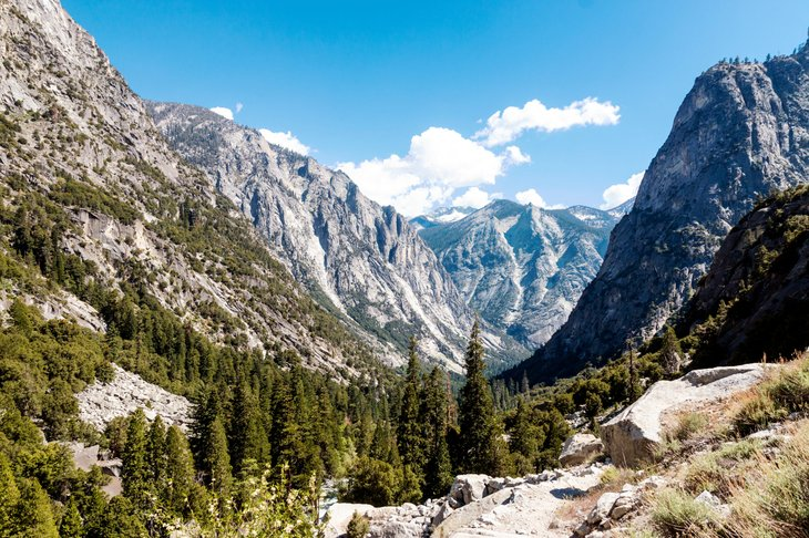 Kings Canyon National Park in Calfornia