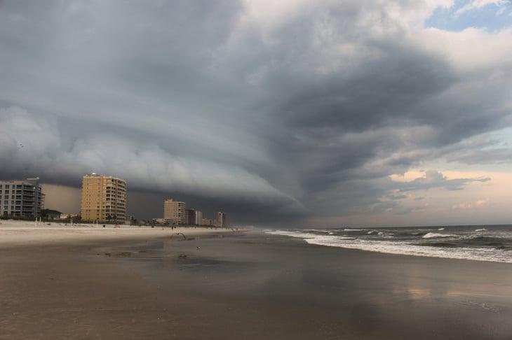Storm in Jacksonville, Florida