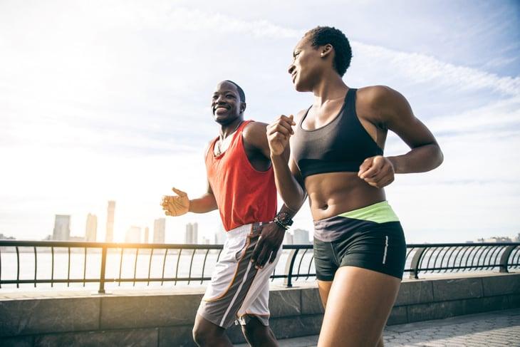runners in New York City