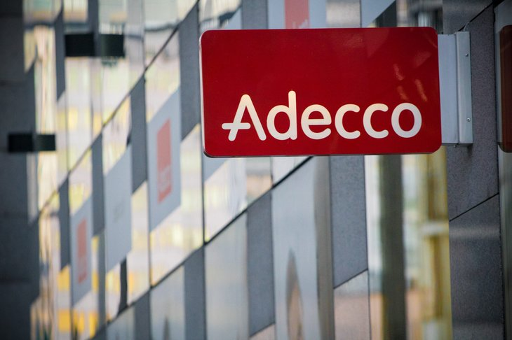 Adecco sign
