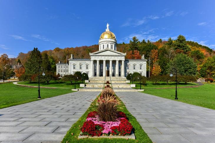 Vermont Capitol in Montpelier