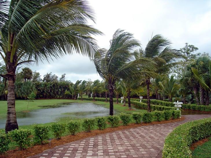West Palm Beach, Florida flooding