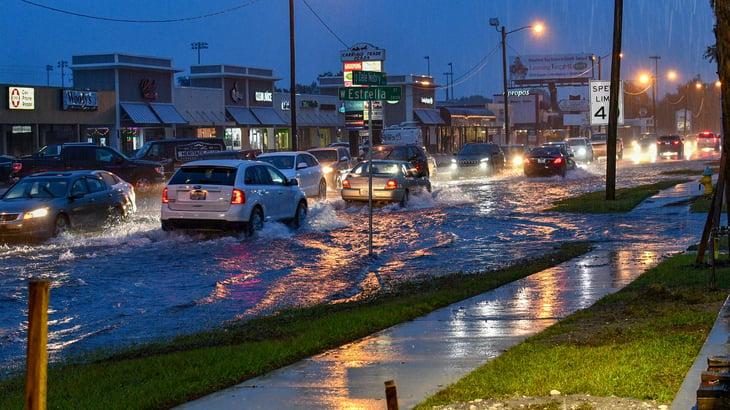 Tampa, Florida flood