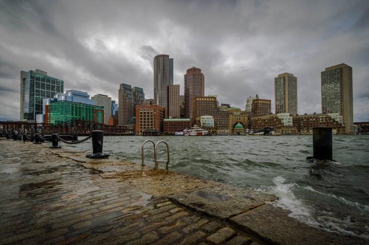 Flooding in Boston