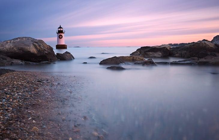 Lighthouse in Salem Massachusetts
