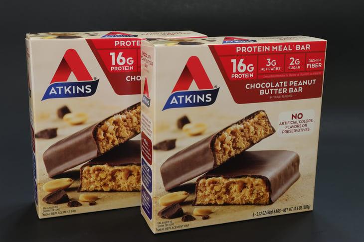 Atkins Chocolate Peanut Butter Bars