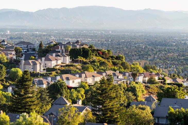 Los Angeles neighborhood in San Fernando Valley