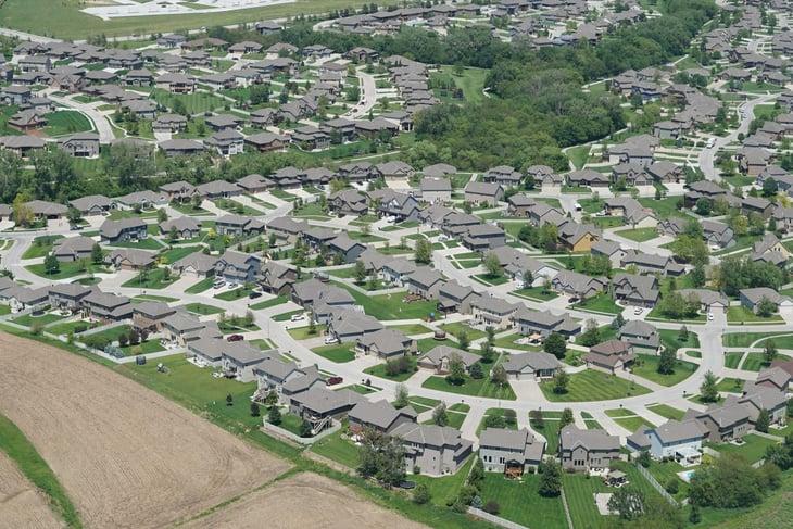 Houses in Omaha, Nebraska