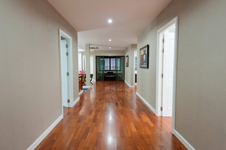 Accessible home with wide hallways