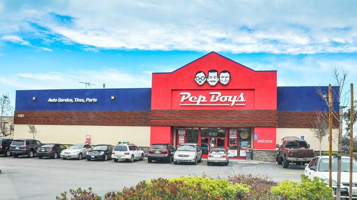 Pep Boys store