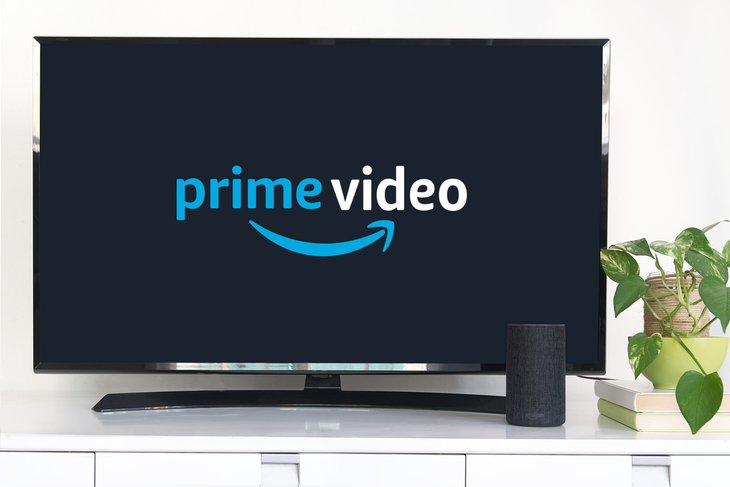 Amazon Prime Video on a TV