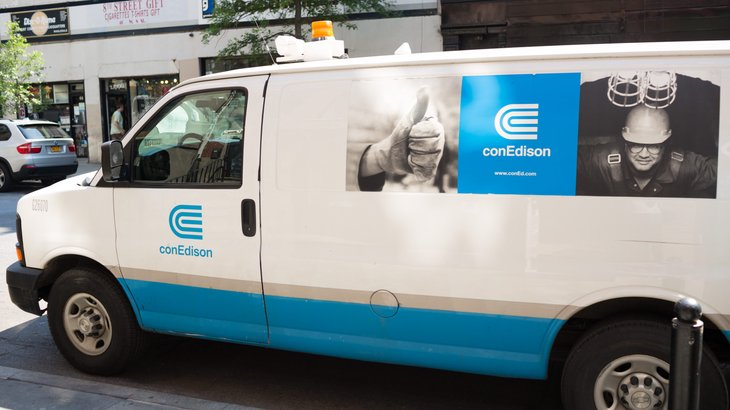 Consolidated Edison Van