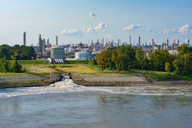 Louisiana power plant