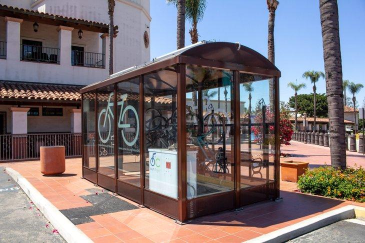bicycle hut in Santa Ana California