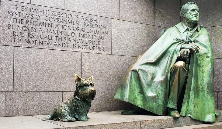 Franklin Delano Roosevelt Memorial in Washington D.C.