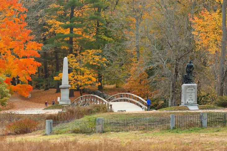 Minute Man National Historic Park, Concord, Massachusetts