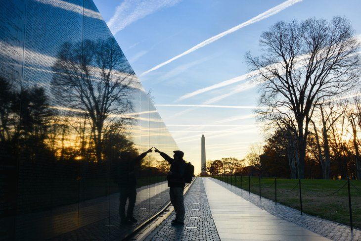 Vietnam Veterans Memorial Wall