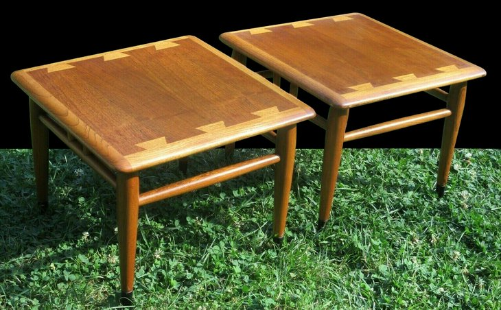 Vintage end tables from the Lane Acclaim collection