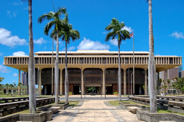 Hawaii Capitol Building