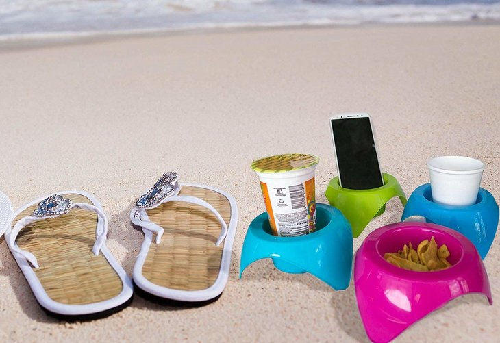 Mookundy Sand Beach Cup Holders