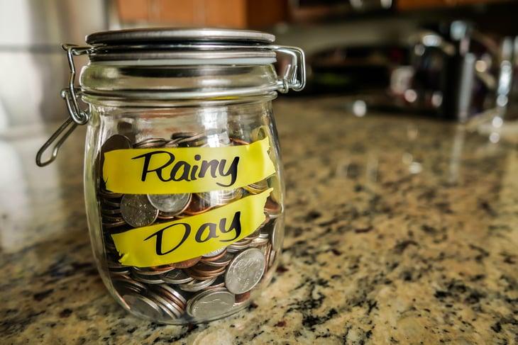 Building a rainy day emergency fund