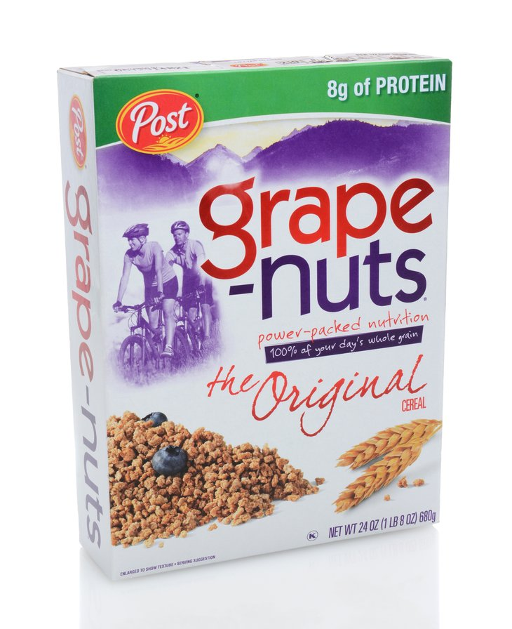 General Foods Grape-Nuts Cereal
