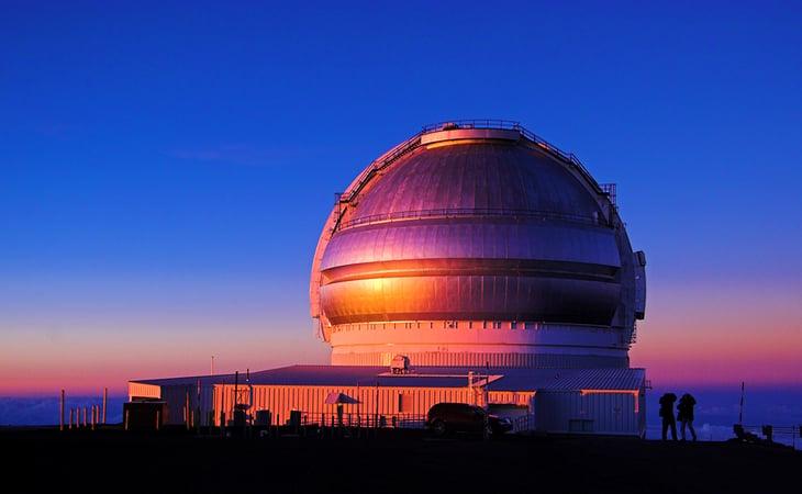 Mauna Kea Observatory, Hawaii.