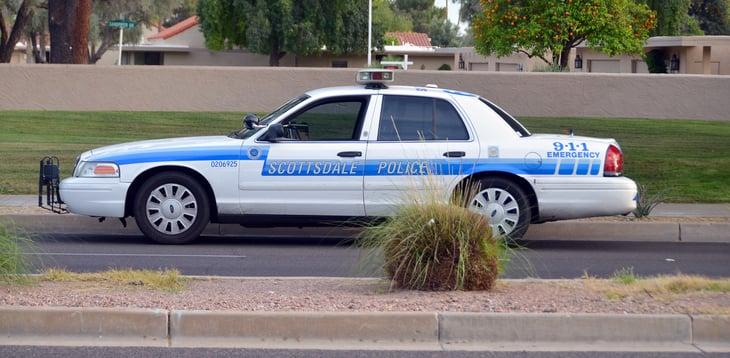 Scottsdale, Arizona, police car