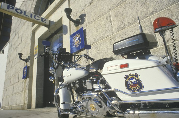 Wilmington, Delaware, police motorcycle