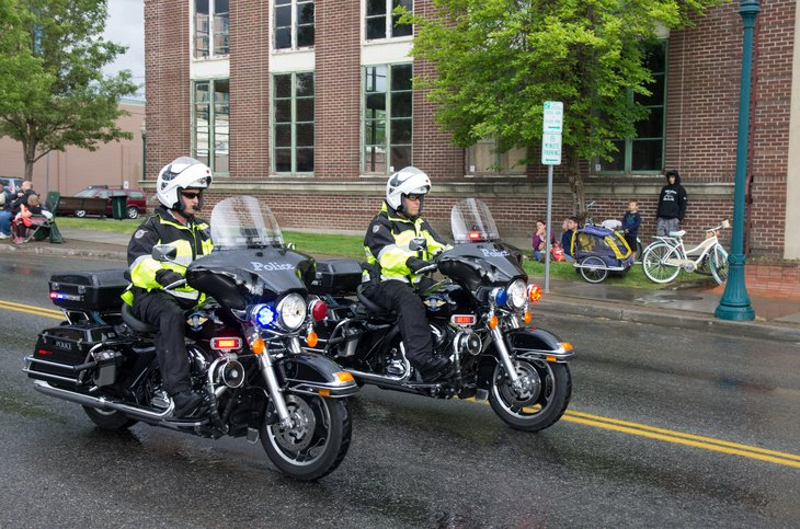 motorcycle police in Idaho