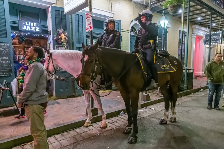 Police in New Orleans, Louisiana
