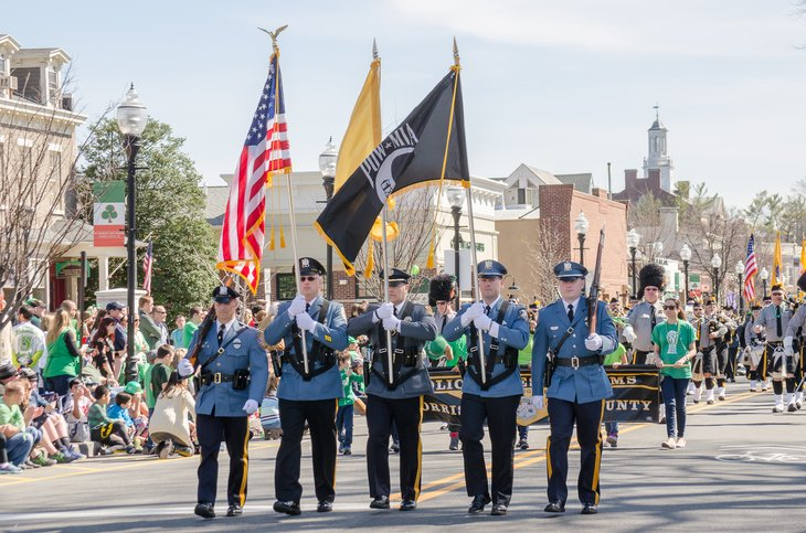 New Jersey police honor guard