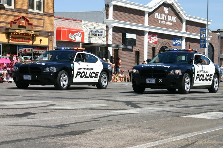 Scottsbluff, Nebraska, police cars