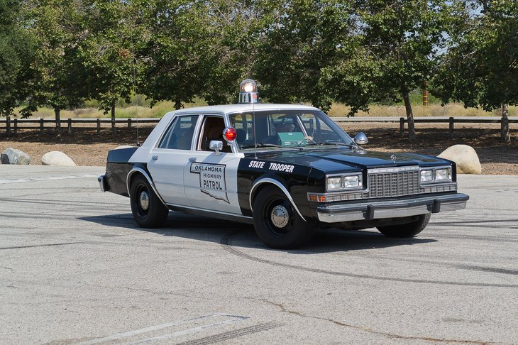 Oklahoma Highway Patrol car