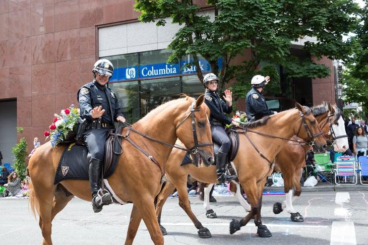 Police in Oregon