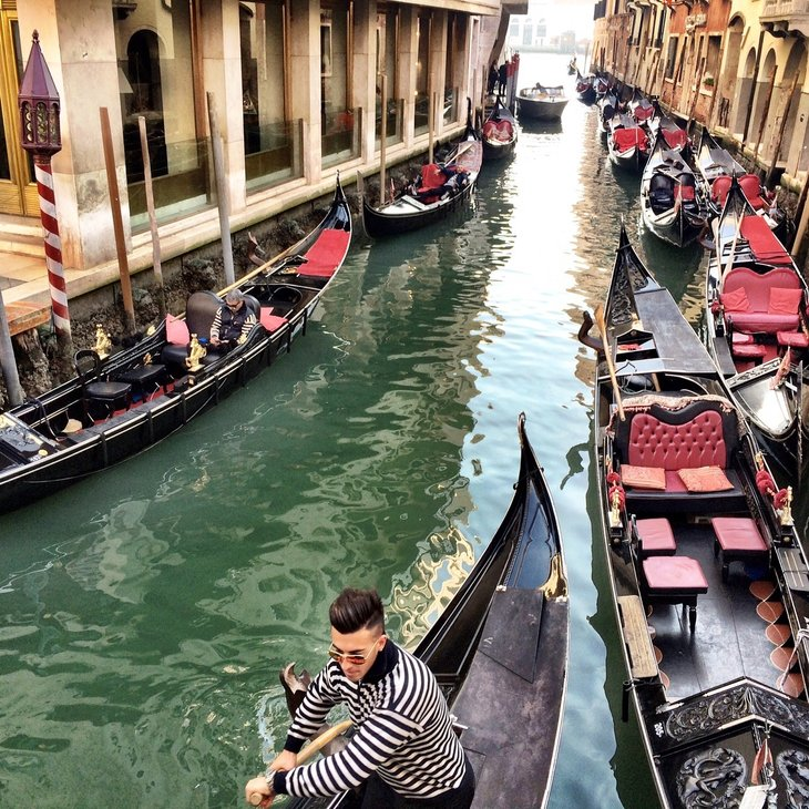 Venice, Italy, as seen by Matt Long of Landlopers.