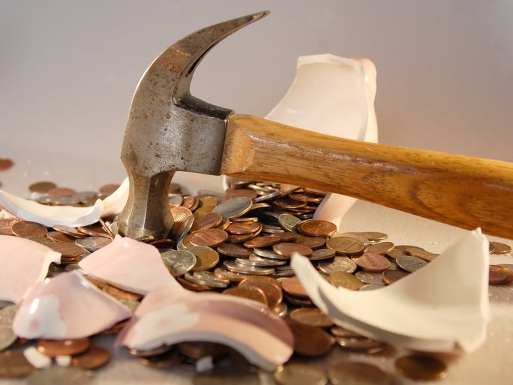 Breaking into savings
