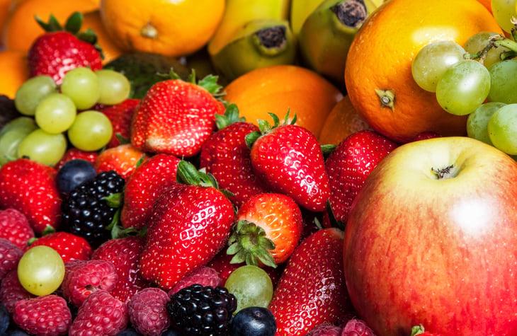 Fresh fruit and berries