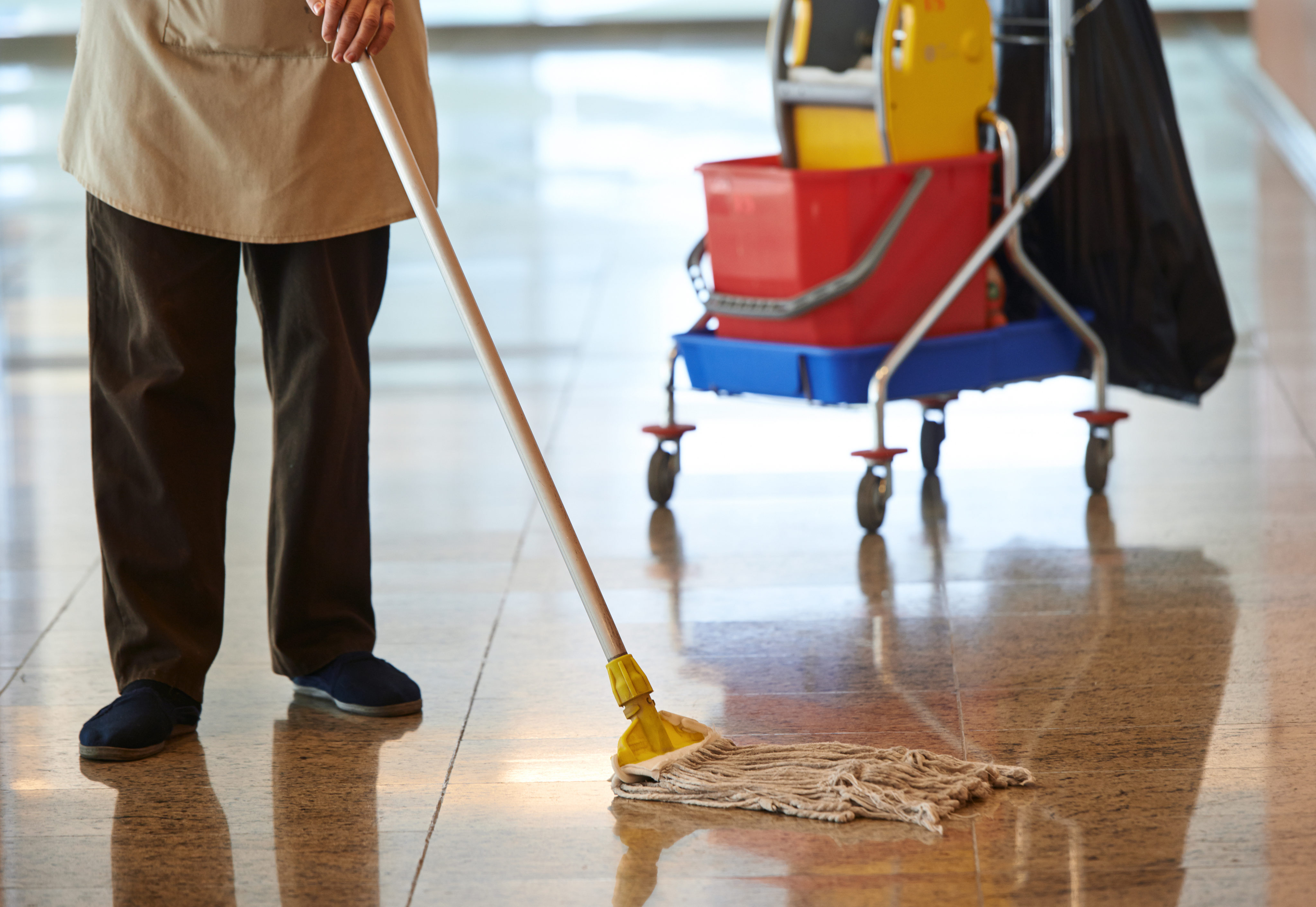 Building Cleaning Equipment : How a janitor amassed an million fortune money talks news