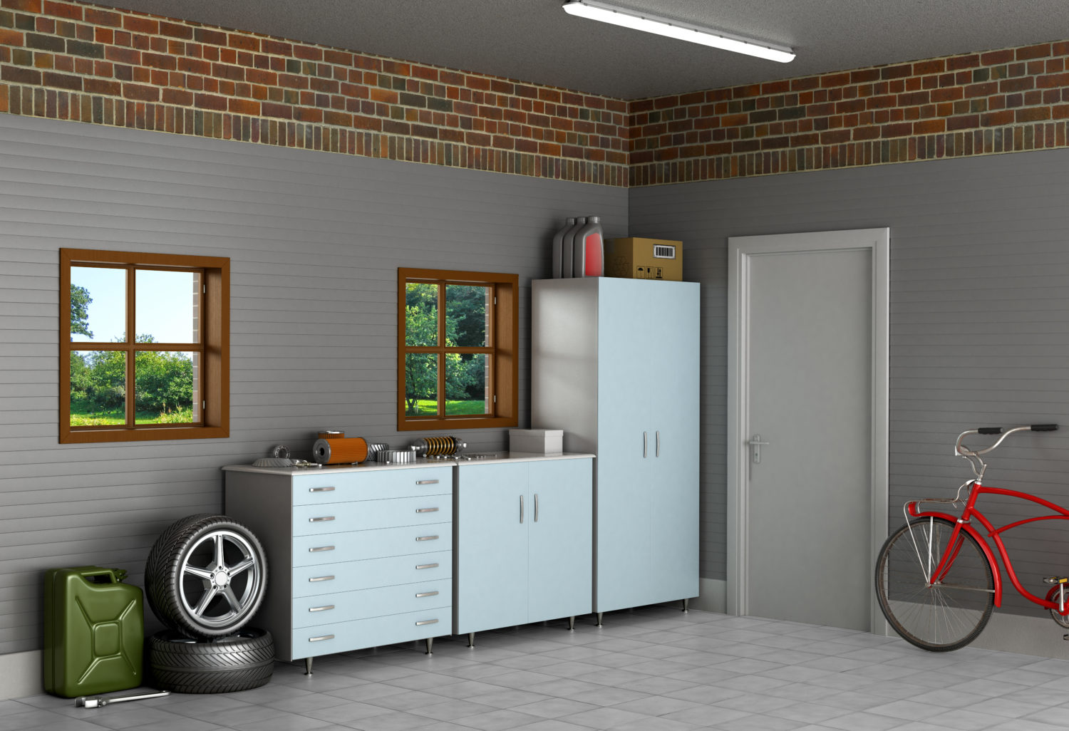 1026 #63432C Steps To A Perfectly Organized Garage Money Talks News pic Best Garage Doors Consumer Reports 39411500